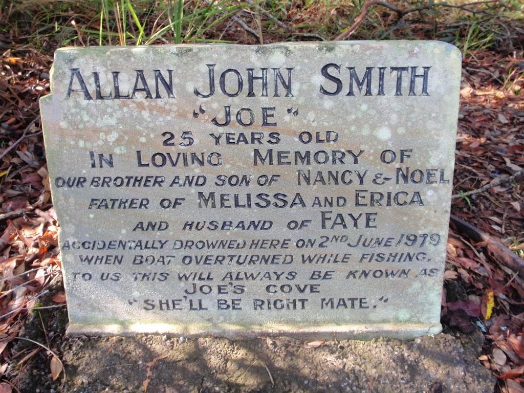 Grave stone of Allan John Smith