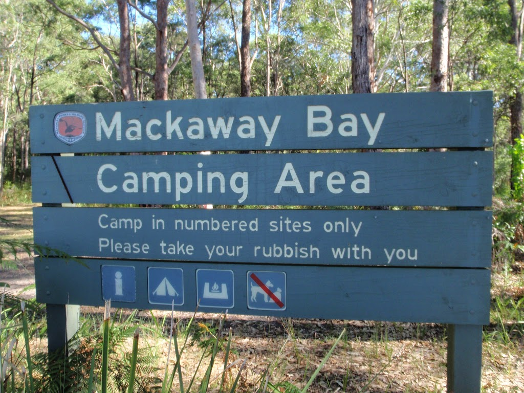 Welcome to Mackaway Bay Camping Area