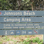 Welcome to Johnson's Beach Camping Area