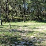 Numbered campsites