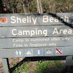 Welcome to Shelly Beach camping area