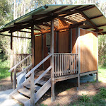 Toilet at Shelly Beach camping area