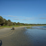 A perfect beach at Point Plomer