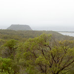Barrenjoey Headland from Aboriginal engravings site (28079)
