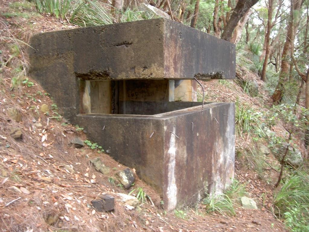WWII gun emplacement