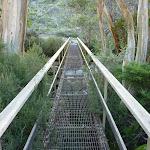 Crossing the western Thredbo River bridge (284243)