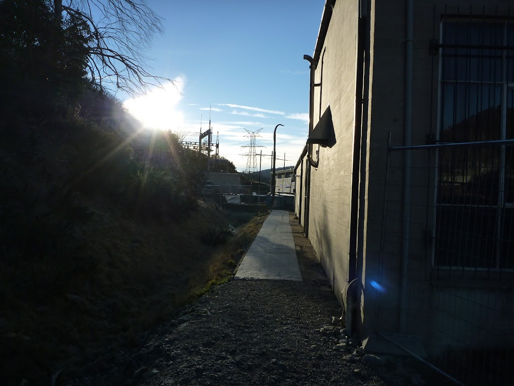 Walking behind Munyang power station (284408)