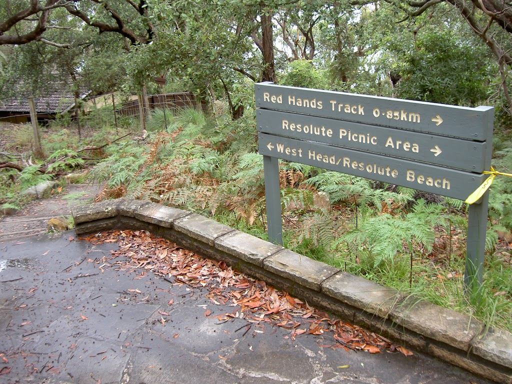 Sign post at West Head Lookout (28463)