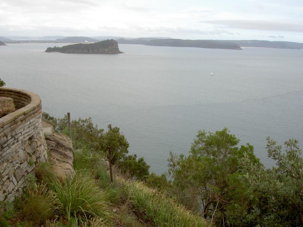 Lion Island in Broken Bay