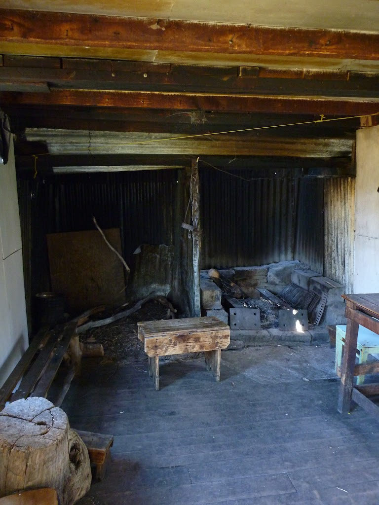 Inside Horse Camp Hut