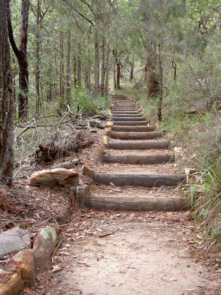 Stairs on West Head Lookout Track
