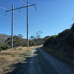 Schlink Trail passing under power lines South of White Rivers Hut (285967)