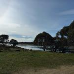 Grassy area beside Three Mile Dam