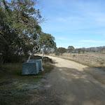 Garbage bins at Three Mile Dam campsite