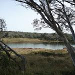Looking across Three Mile Dam