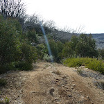 Walking down Farm Ridge Trail (289444)