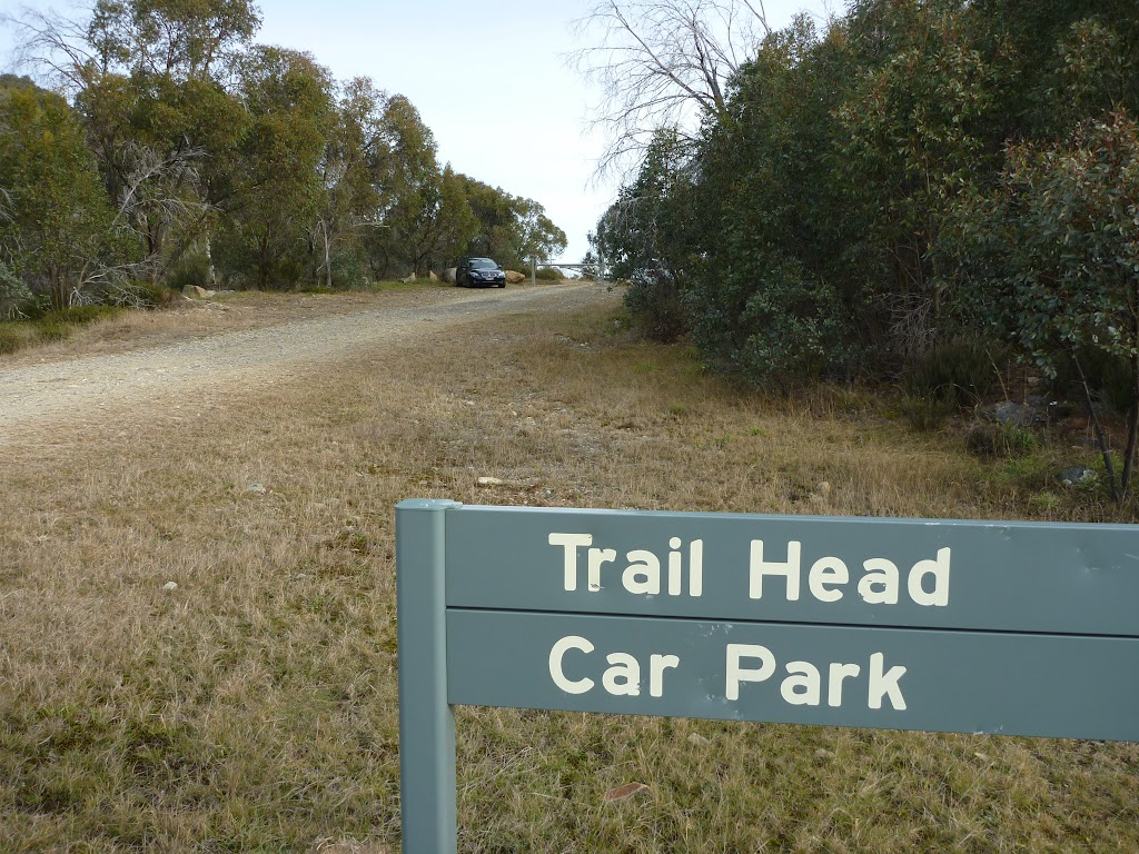 Trail Head sign on Tooma Rd