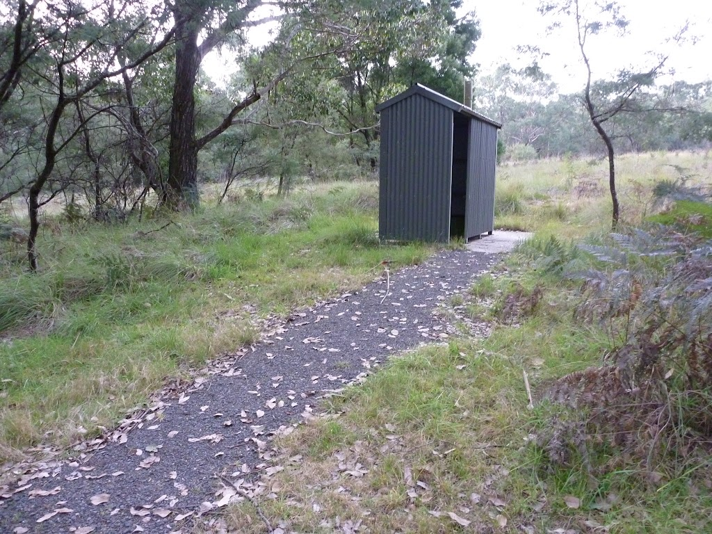 Toilet at Bradneys Gap Camping area