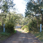 Gate on the northern side of Swampy Plains River crossing near Geehi (291949)