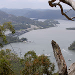 View over the Hawkesbury River and Peats Ferry Bridge (29213)