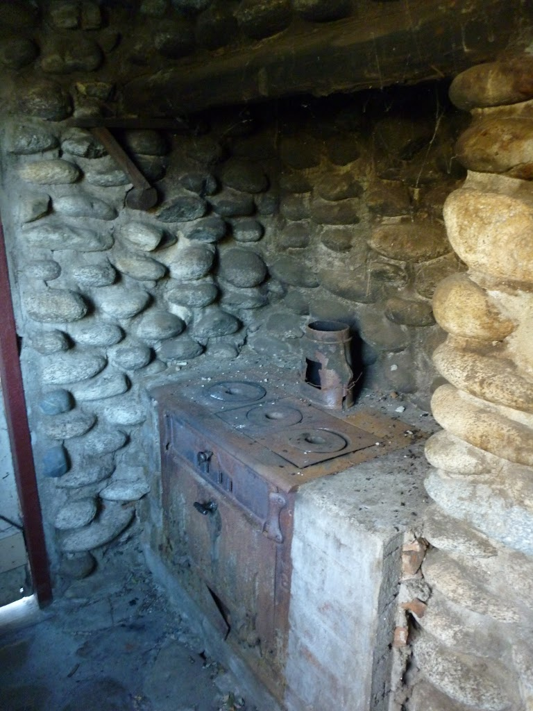 Keebles Hut's old kitchen