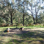 Camping area at Geehi