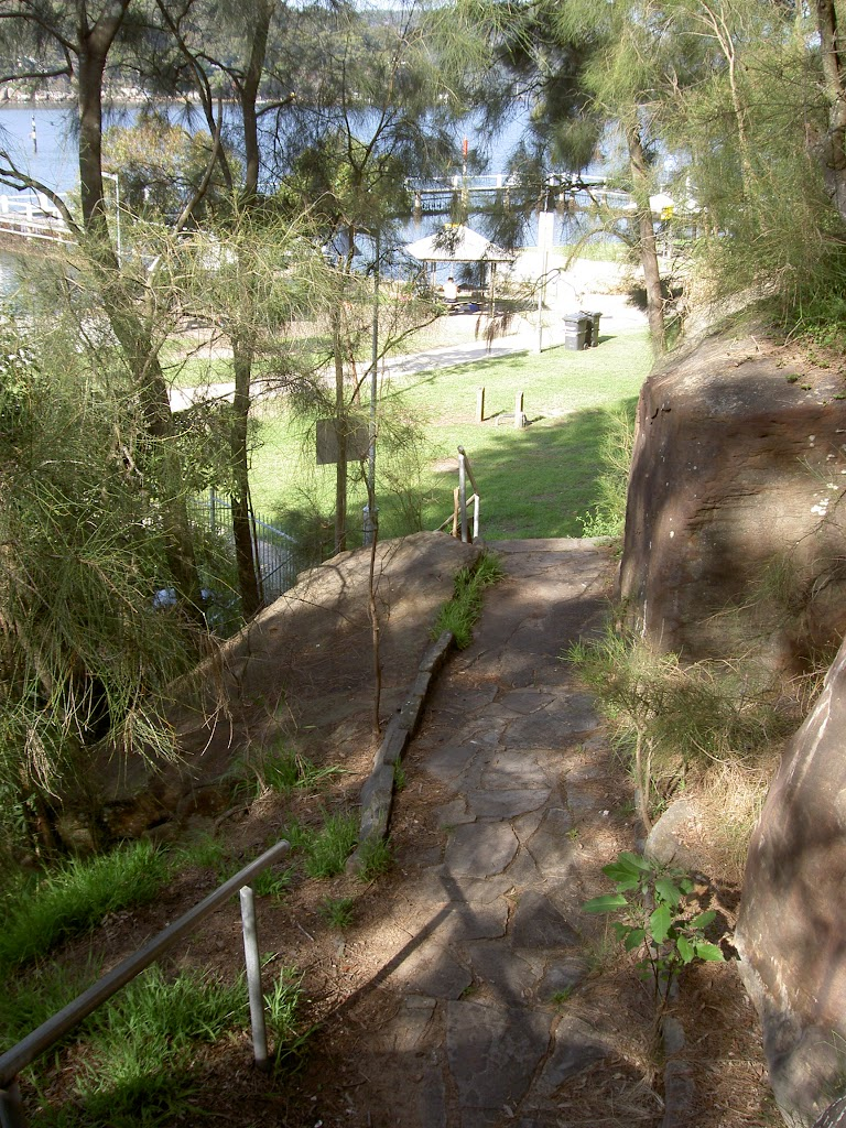 Stairs down to McKell Park Playground (29495)