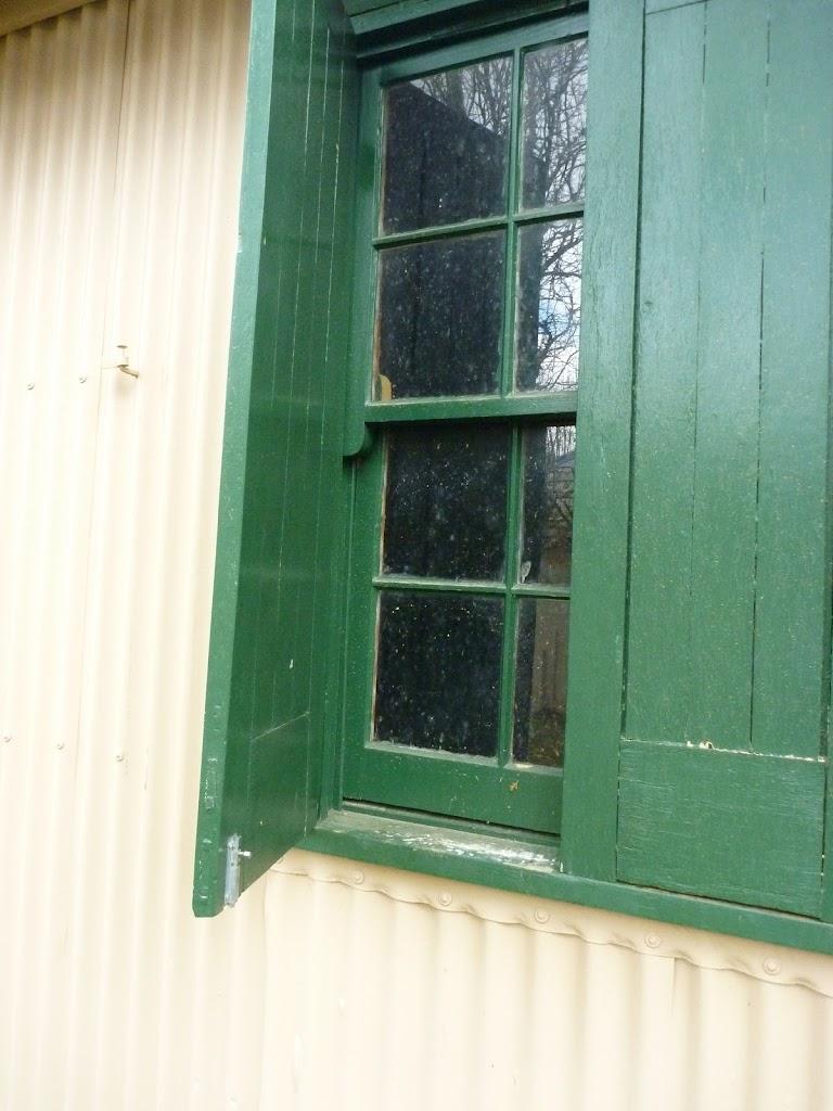 Window at Bullocks Hut