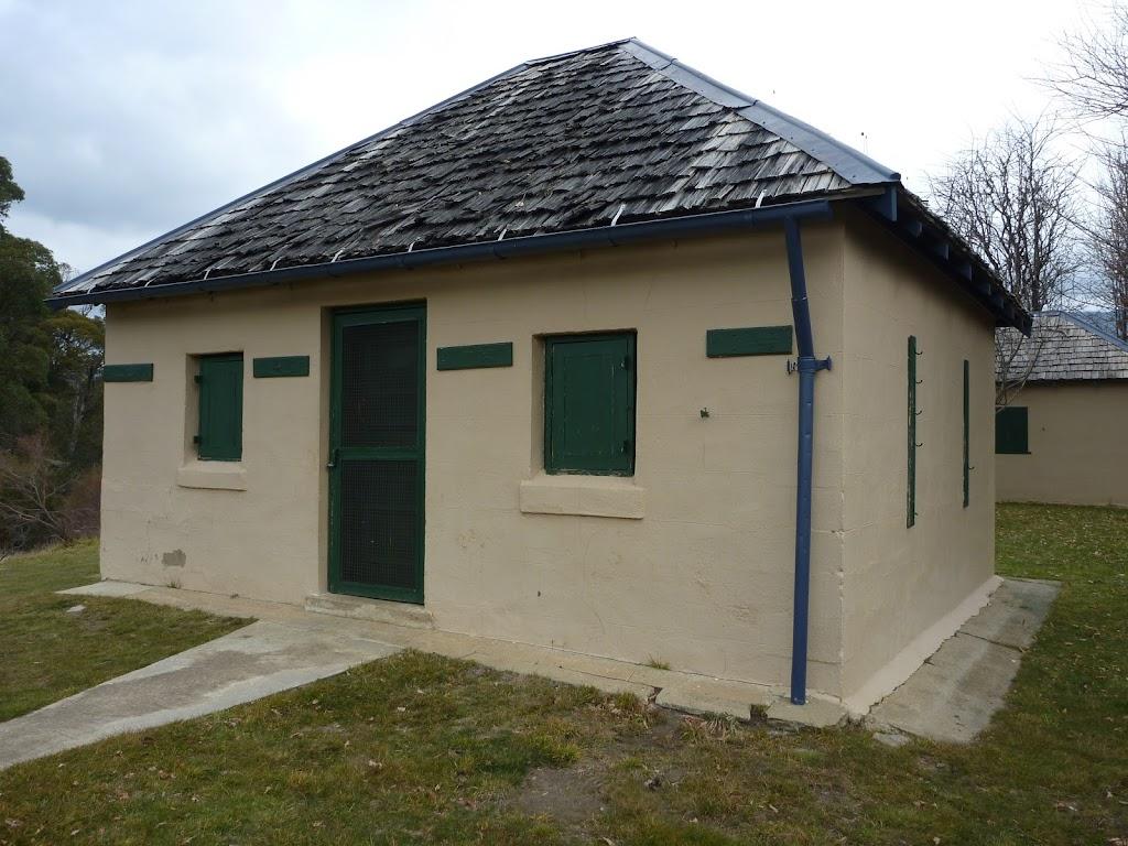 Front of Bullocks Hut
