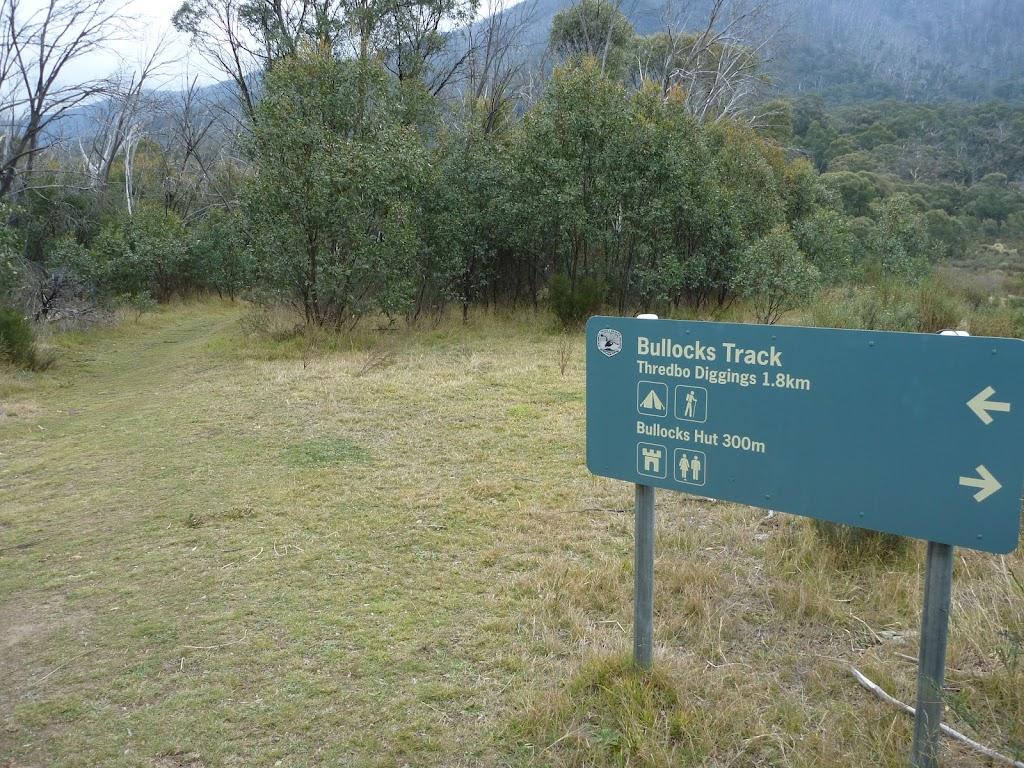 Bullocks Track sign