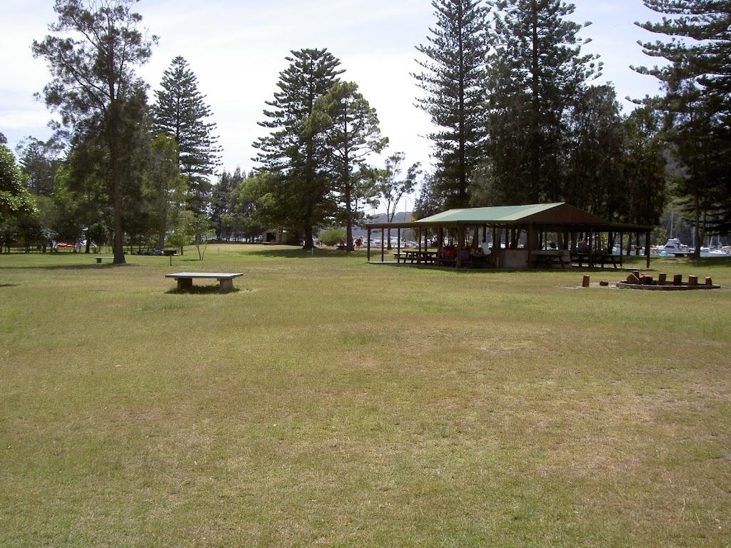 The Basin picnic area