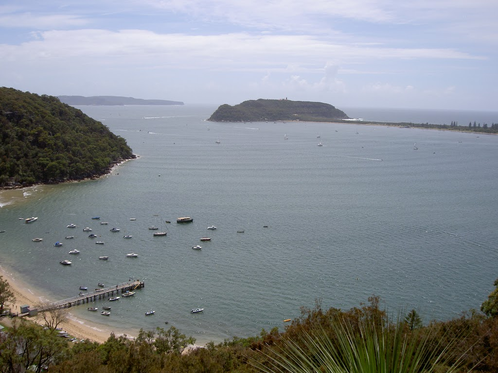 Pittwater from a clearing above Mackerel Beach (29897)