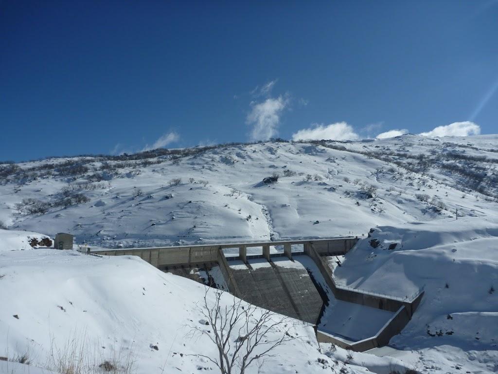 Guthega Dam and spillway