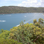 View over Pittwater