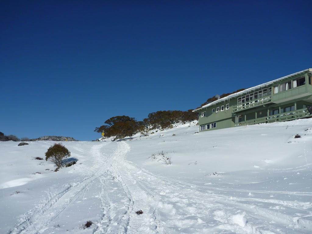 Passing below a lodge