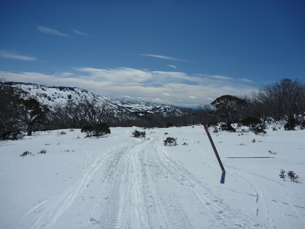 Looking down towards Perisher Valley
