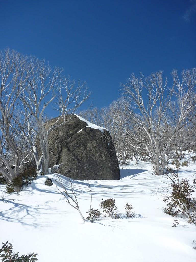 Granite Tor in the snow