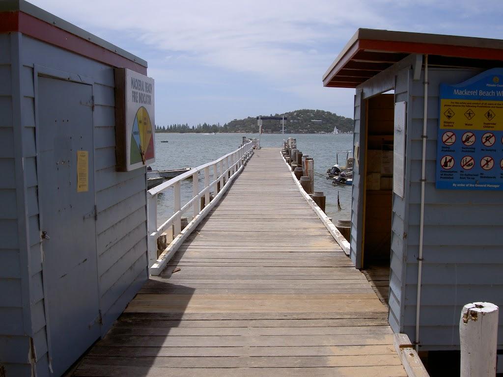 Mackerel Beach Wharf