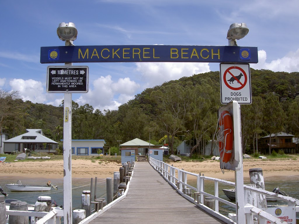 Mackerel Beach Wharf