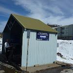 Shuttle bus shelter at Smiggins Centre (301204)