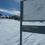 Mount Piper Trail sign