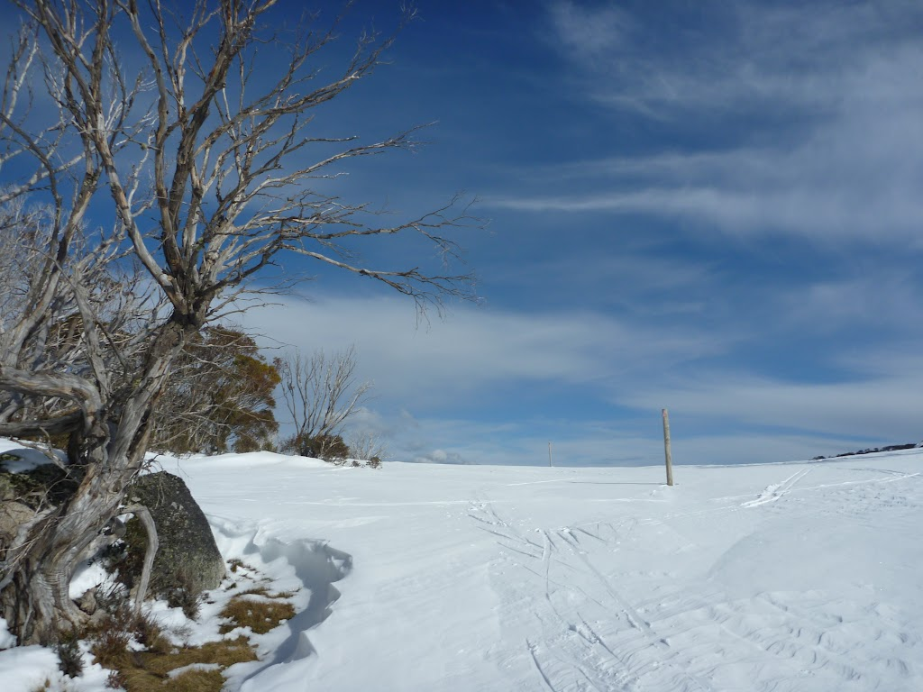 Climbing over pass behind Perisher Valley