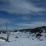 Looking down Perisher Valley