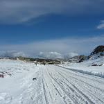 Snowshoeing on Perisher Blue Cow Link Rd