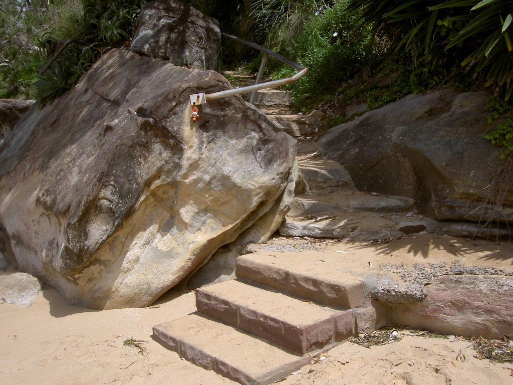 Stairs on south end of Mackerel Beach