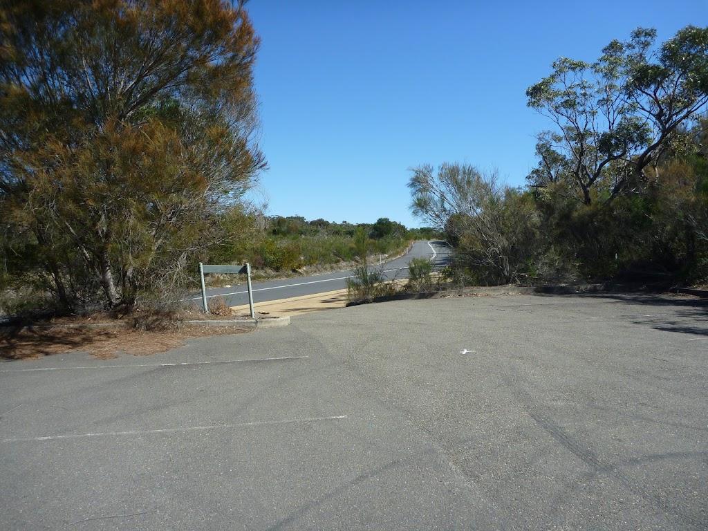 Elvina Bay Track car park
