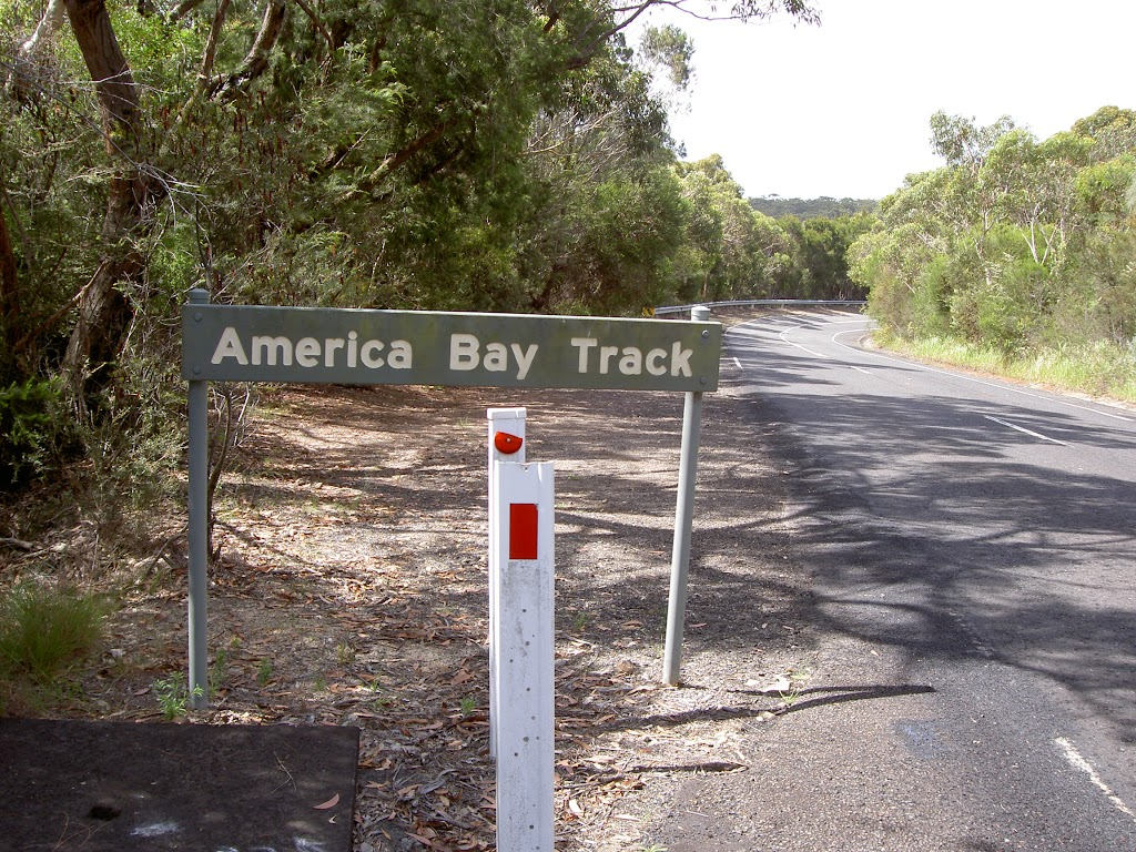 America Bay Track sign