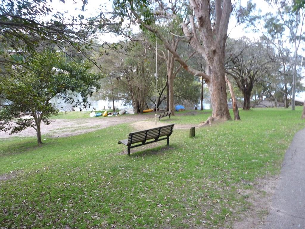 Elvina Bay Park from Elvina Track
