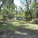 Locked gate at start of Smiths Creek Trail (306374)