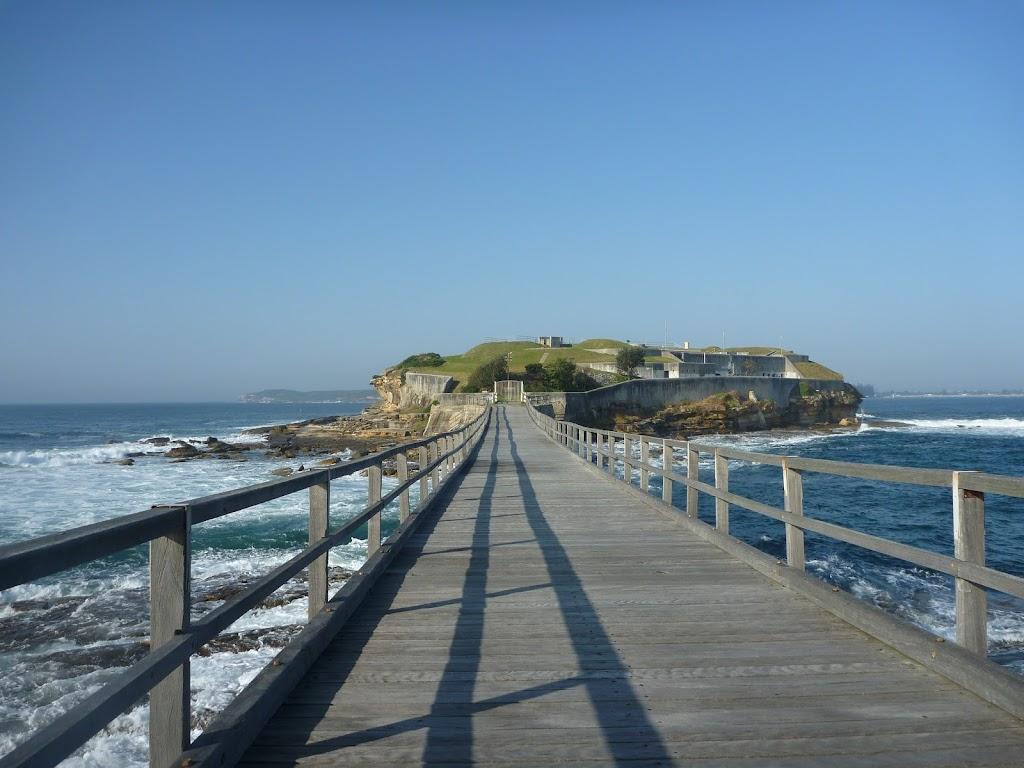 Bridge across to Bare Island near La Perouse (308159)